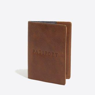 J.Crew Leather passport case