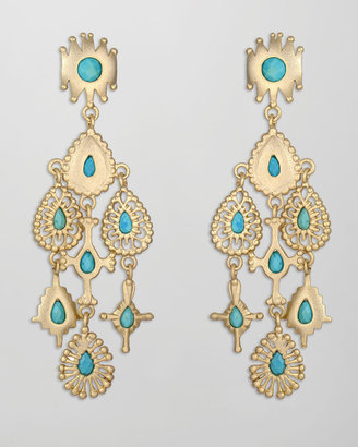 Kendra Scott Rollins Drop Earrings, Turquoise