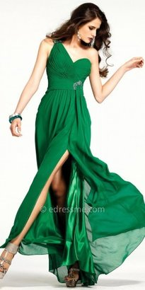 Faviana Embellished Chiffon Evening Dresses