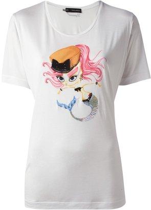 DSquared DSQUARED2 punk mermaid t-shirt