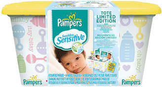 Procter & Gamble Pampers Swaddlers Sensitive Size 1 & 2 Jumbo - 63ct Diapers/Baby Wipes Limited Edition Tote (Over a $100 Value)
