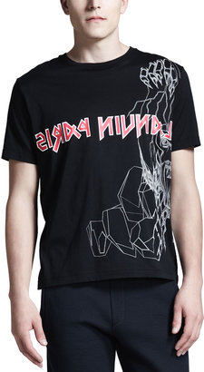 Lanvin Logo Monster T-Shirt
