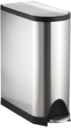 Simplehuman Stainless Steel 11.8 gal. Butterfly Step Can