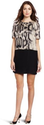 Autograph Addison Women's Contrast Shift Dress