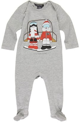 Little Marc Jacobs Jamine 2 (infant/toddler) (Heather Grey) - Apparel