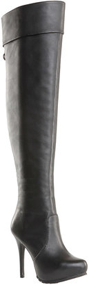 Max Studio Cuffed Over-The-Knee Lug Sole Boots