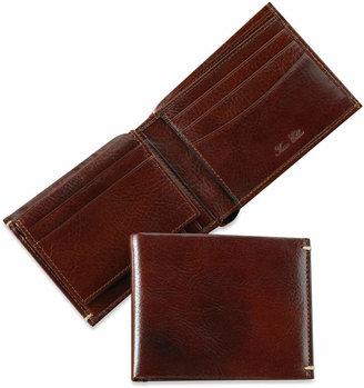 Tasso Elba Invecchiato Italian Leather Bifold Wallet $50 thestylecure.com