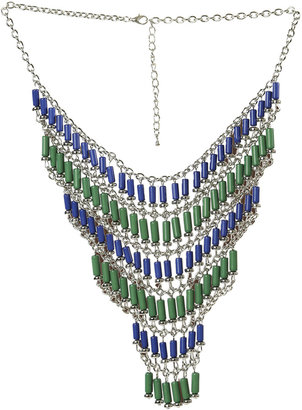 Arden B Two Tone Statement Necklace