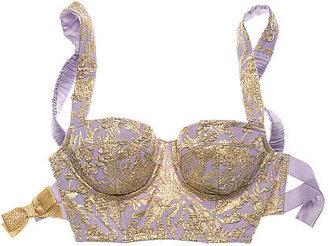 Victoria's Secret The Designer Collection Jacquard Long Line Balconet Bra