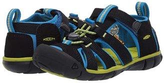KEEN Kids Seacamp II CNX (Toddler/Little Kid) (Black/Brilliant Blue) Kids Shoes