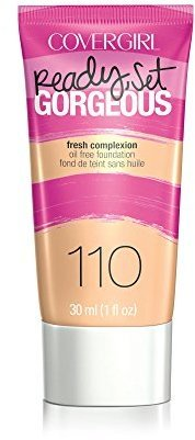 COVERGIRL Ready, Set Gorgeous Foundation, Creamy Natural 1 fl oz (30 ml) $8.99 thestylecure.com