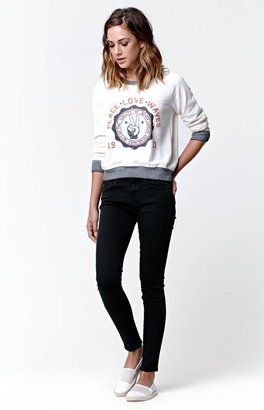 Billabong Peace Loves Waves Crew Neck Sweatshirt