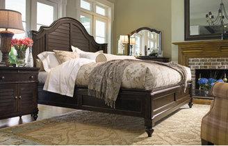 Paula Deen Home Steel Magnolia Wingback Bedroom Collection