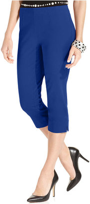 INC International Concepts Pants, Pull-On Capri