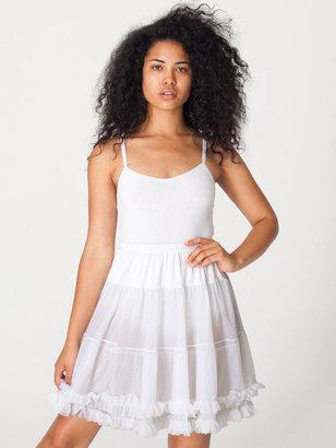 American Apparel Petticoat Slip Skirt