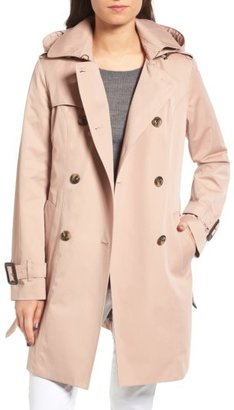 Women's London Fog Heritage Trench Coat With Detachable Liner $178 thestylecure.com