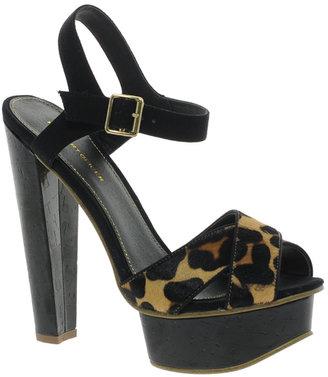 Carvela Jem Cross Strap Sandals