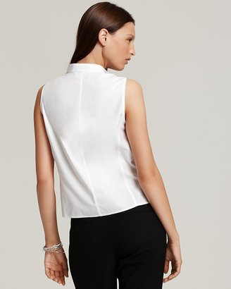 Jones New York Collection Sleeveless Easy Care Blouse