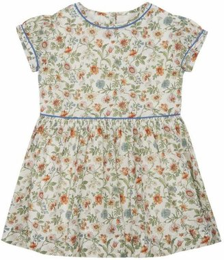 Liberty London Tiger Lily Short Sleeved Dress 2-10 Years