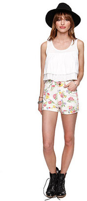 Bullhead Denim Co Vintage Double Mom Shorts