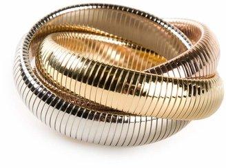 Janis Savitt triple 'Cobra' bracelet