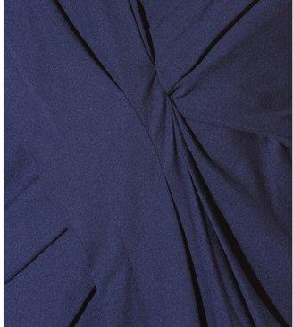 Helmut Lang Draped crepe dress