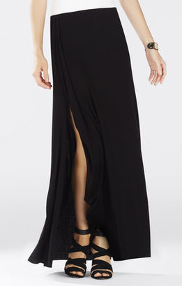 BCBGMAXAZRIA Logan Ruffle Maxi Skirt
