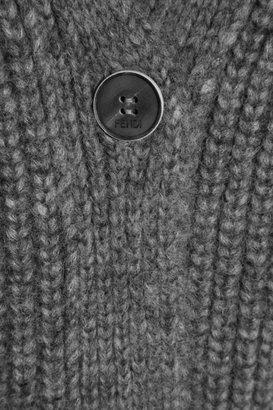 Fendi Chunky-knit alpaca-blend cardigan