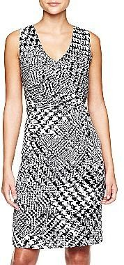 Mng by Mango® Houndstooth-Print Dress