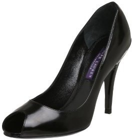 Ralph Lauren Women's Ranna Peep-Toe Pump