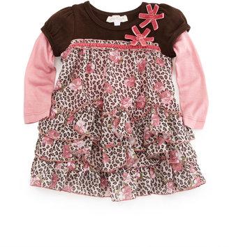 Baby Sara Animal-Print Baby Doll Dress, 12-24 Months