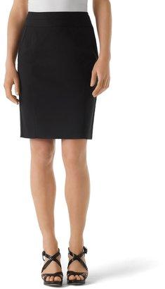 White House Black Market Perfect Form Black Pencil Skirt