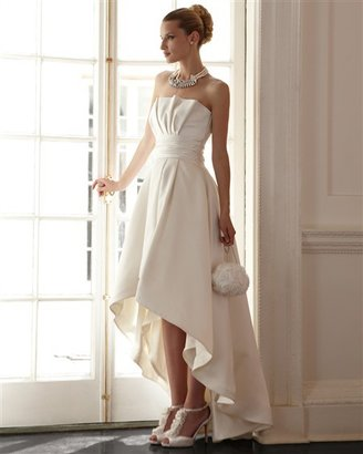 NEW High-Low Hem Wedding Gown - DressVault.com