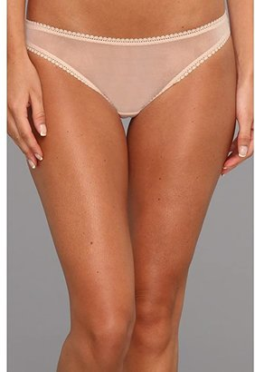 OnGossamer Solid Gossamer Mesh Hip Bikini 3202 (Soft Rose) Women's Underwear