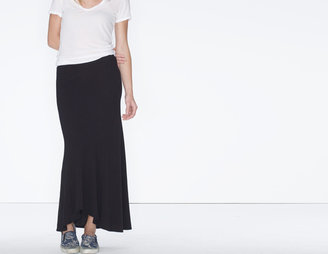 James Perse Soft High-Low Skirt
