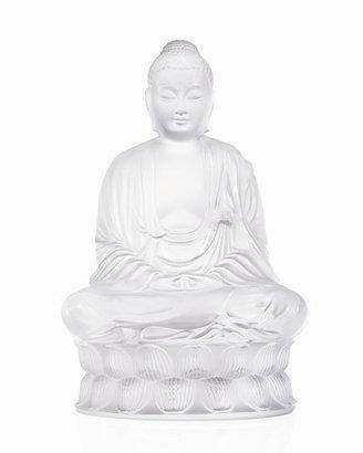 Lalique Clear Buddha Figure