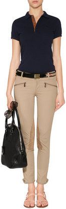 Ralph Lauren Blue Label Cotton Skinny Fit Polo Shirt in Park Avenue Navy