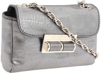 Ivanka Trump Crystal Clutch Wallet (Gunmetal/Metallic) - Bags and Luggage