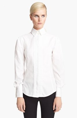 Jason Wu Pintuck Twill Blouse