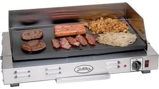 Broil King 21x12-in. Professional Griddle with Splatter Guard, Stainless