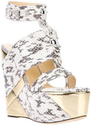 Jimmy Choo 'Bibi' wedge sandal