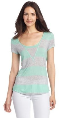 Vince Camuto Two by Women's Cabana Stripe Tee
