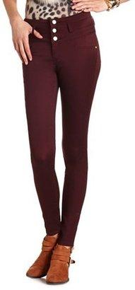 Charlotte Russe Refuge High Waist Super Skinny Jean
