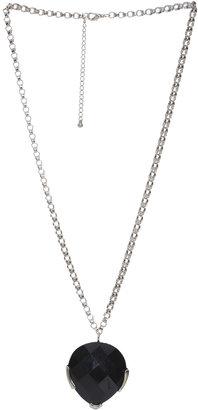 Arden B Teardrop Stone Pendant Necklace