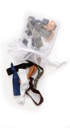 Bop Basics Solid Army Hair Tie Set