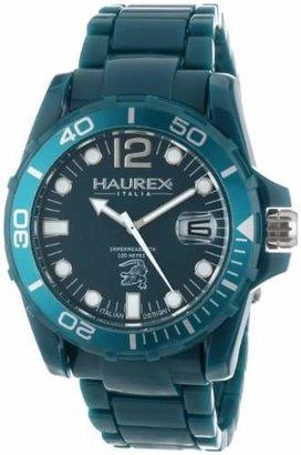 Haurex Italy Men's B7354UBB Caimano Date Dial Plastic Sport Watch