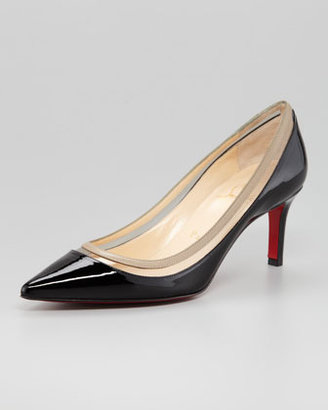 Christian Louboutin Paulina Pointed Toe Red Sole Pump