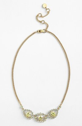 Givenchy Frontal Necklace Chrysolite/ Gold