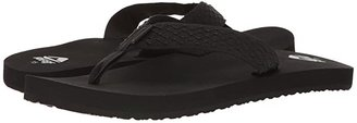 Reef Smoothy (Black) Men's Sandals