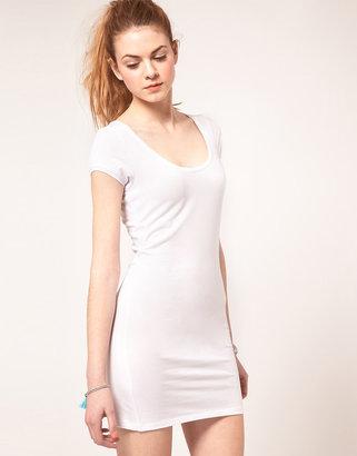 Vila Jersey Short Sleeve Tunic Dress